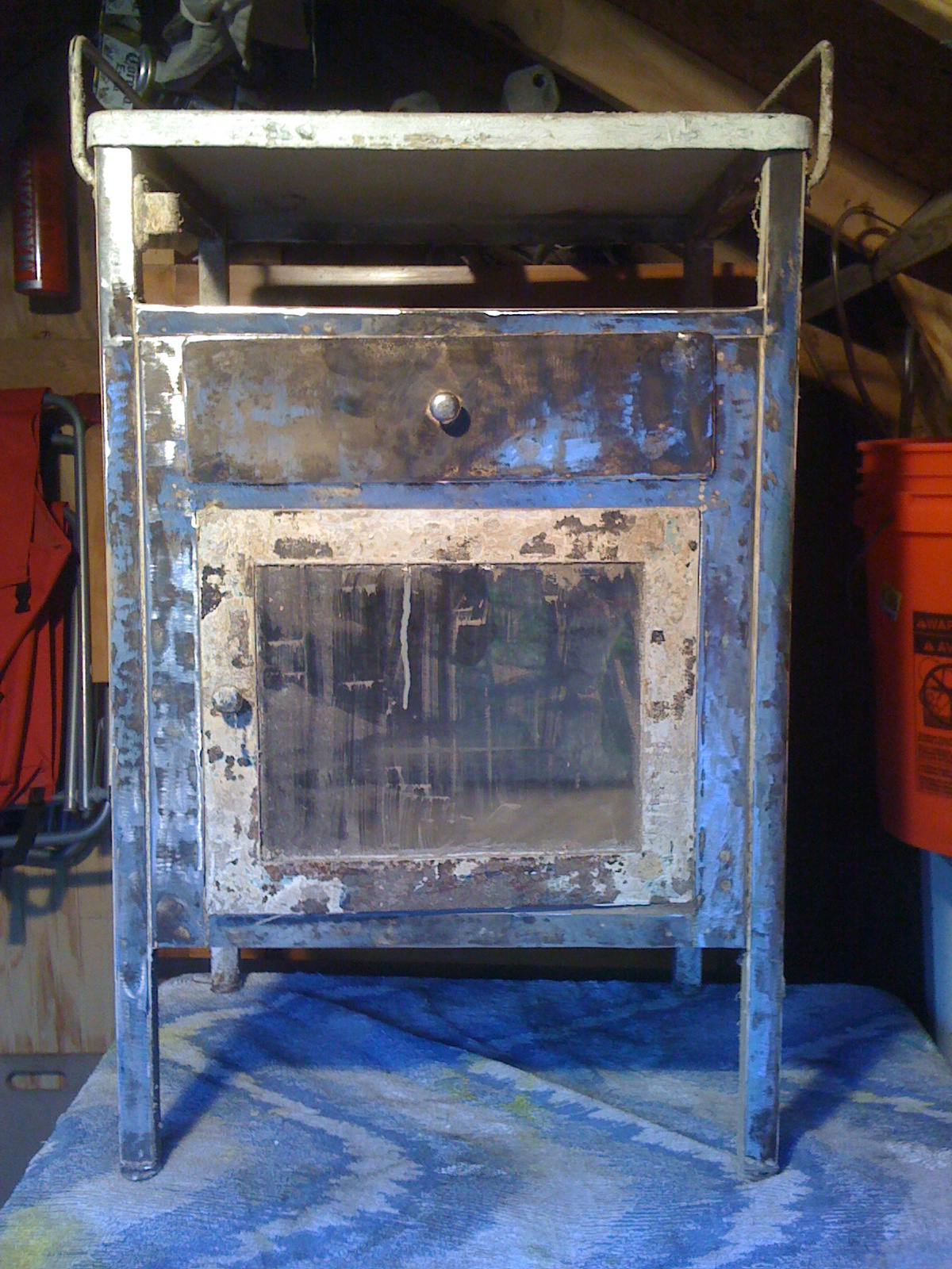 Steel Kitchen Cart Oh Glory Vintage Vintage Clothing Shabby Chic Repurposed Furniture