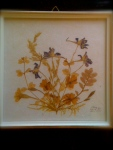 Dried flower art 1