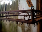 antique pot rack 1