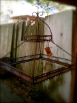 antique pot rack
