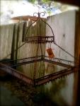 antique pot rack