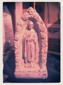 Ceramic vintage figure