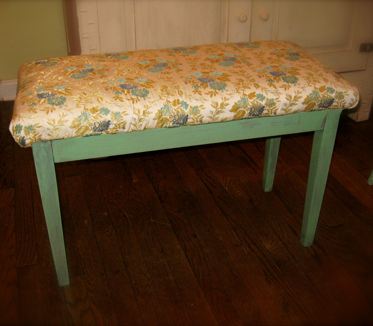 Vintage Piano Bench Oh Glory Vintage Vintage Clothing Shabby Chic Repurposed Furniture