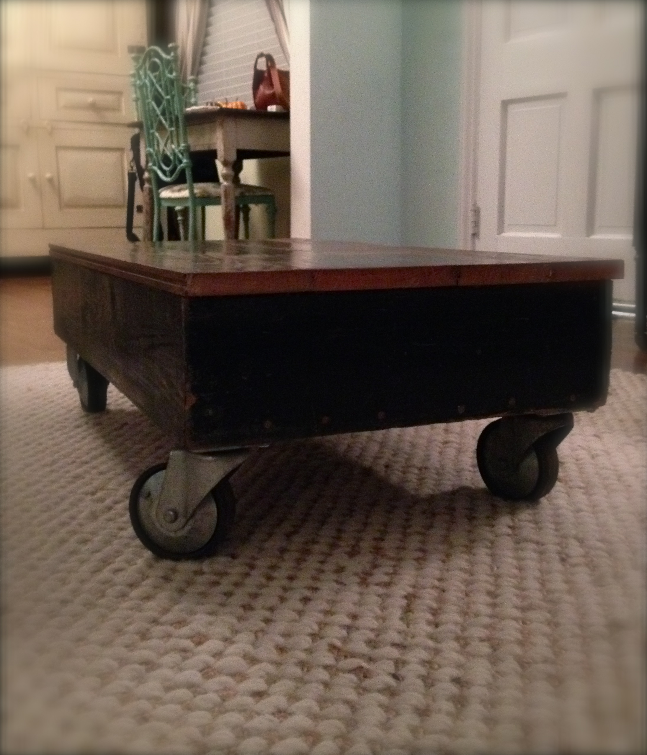 Mill Cart Coffee Table Upcycled Cart Oh Glory Vintage Vintage Clothing Shabby Chic
