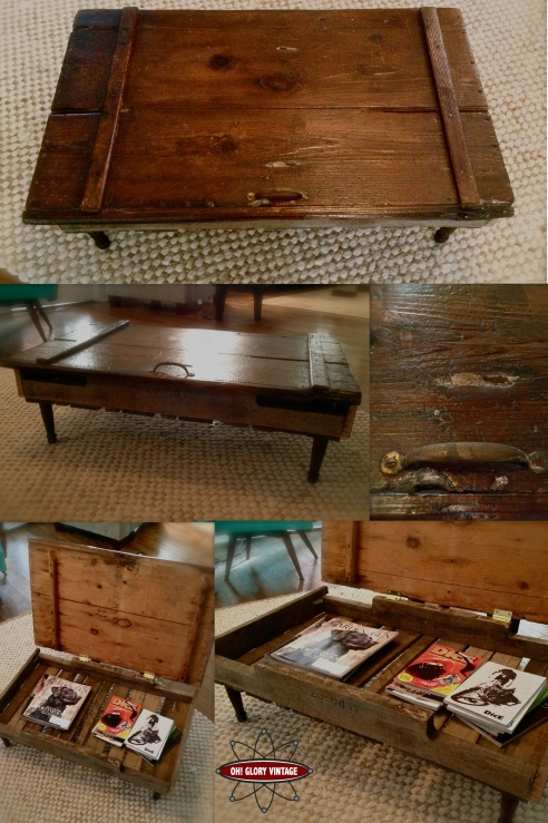 barn door table