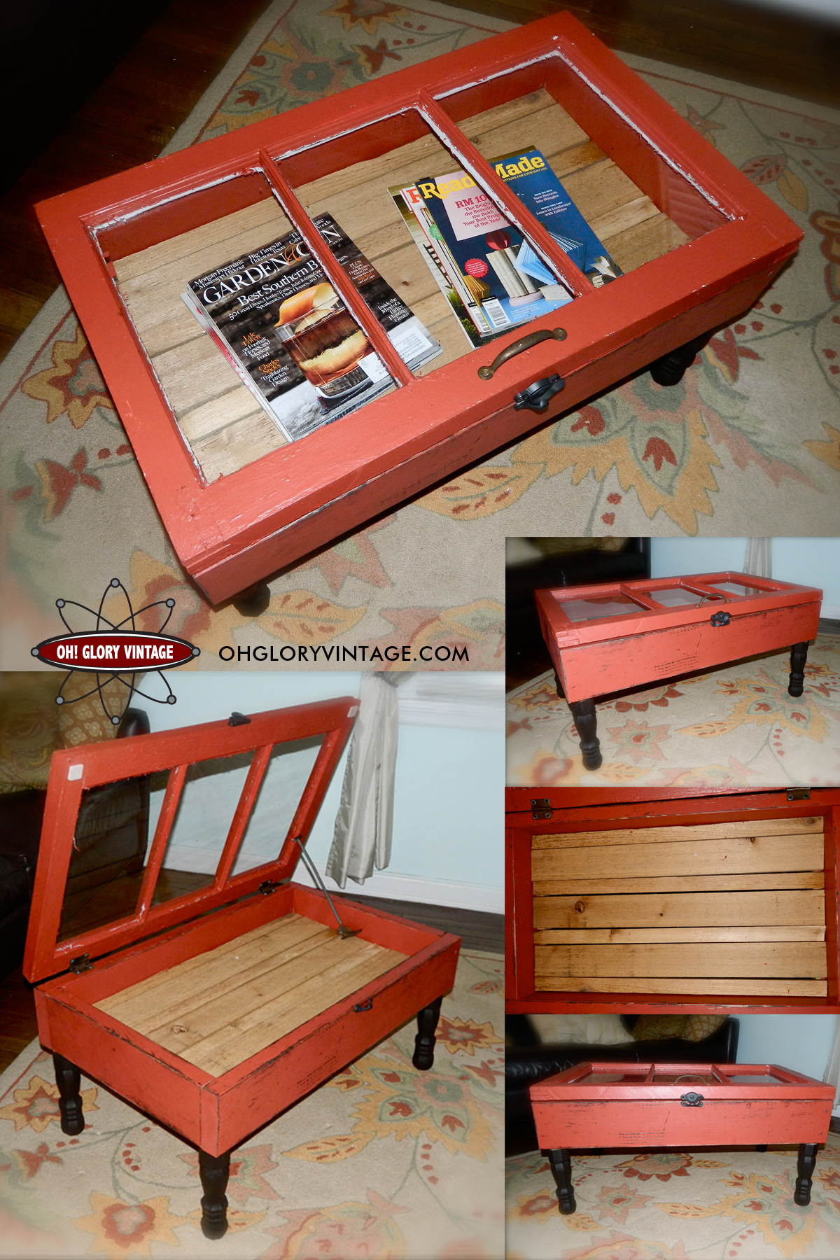 ... Old Window To Coffee Table · Share This ...