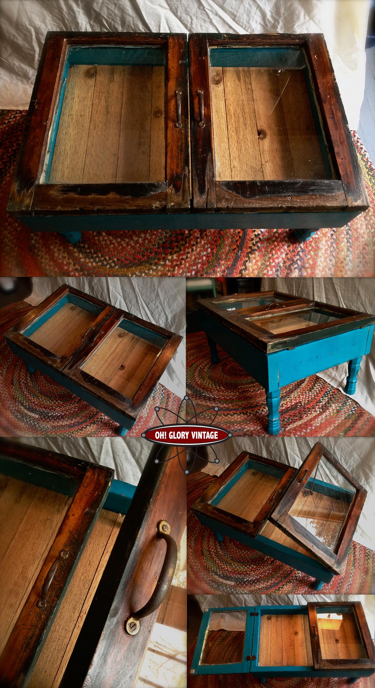 shabby chic coffee tableOh Glory VintageVintage Clothing