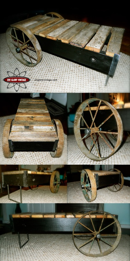 reclaimed barn board table