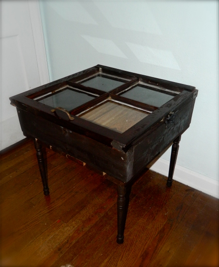 reclaimed window table
