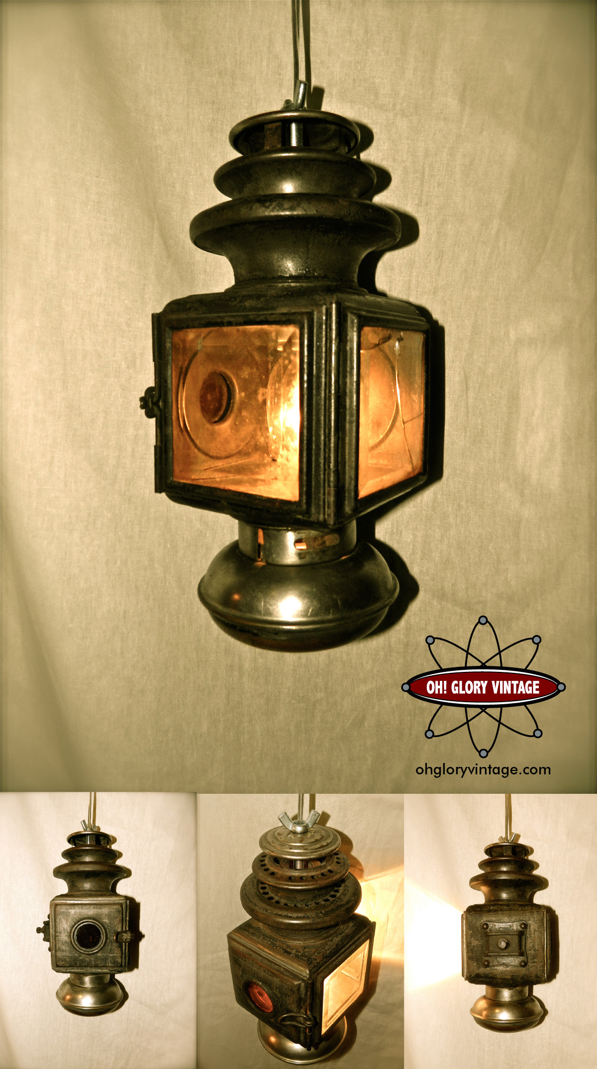 Steampunk Lamp Oh Glory Vintage Vintage Clothing