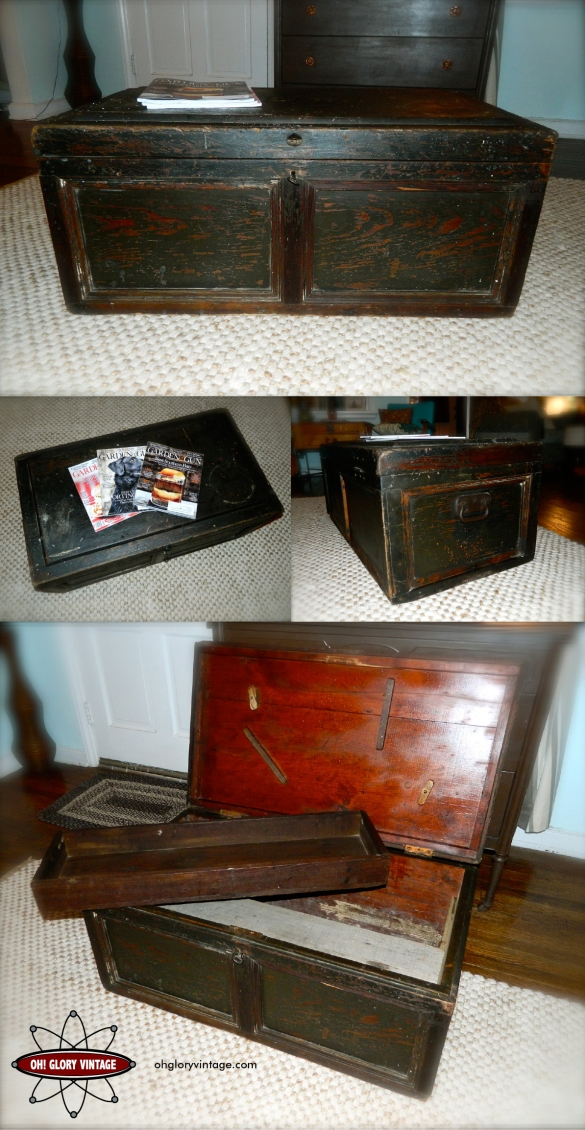 wooden trunk coffee table plans