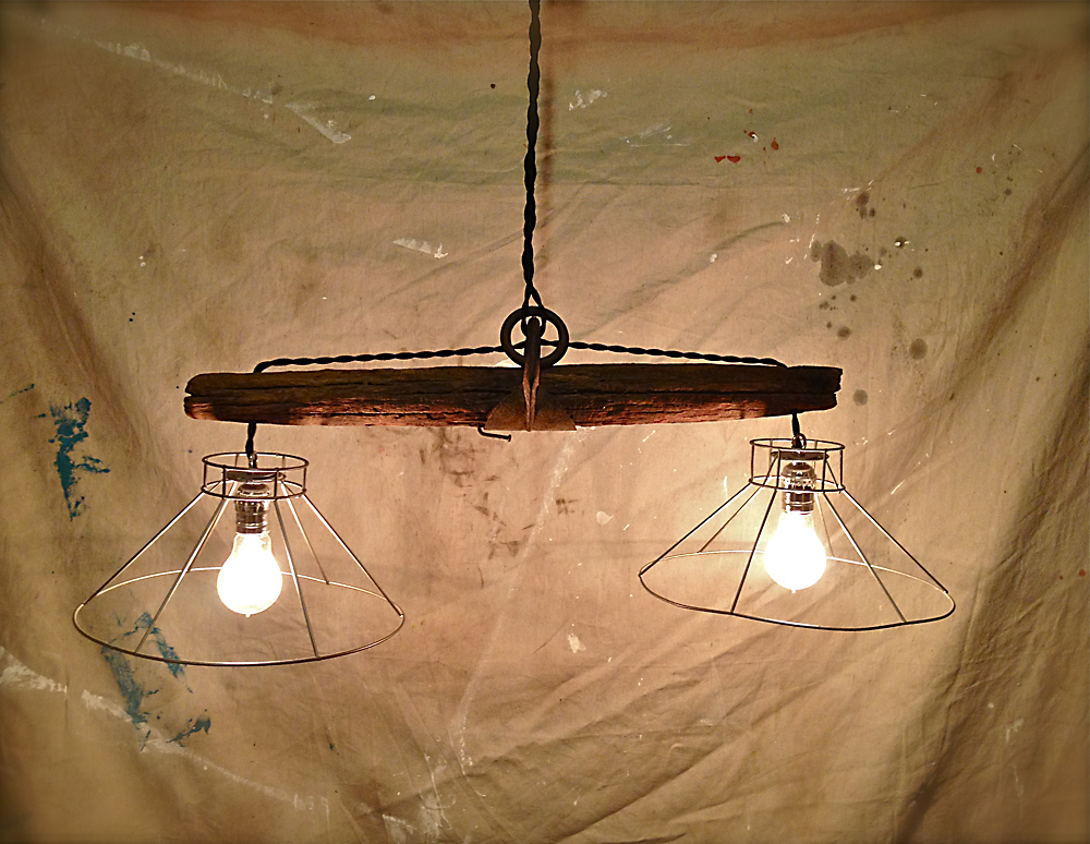 Rustic Dining Room Light
