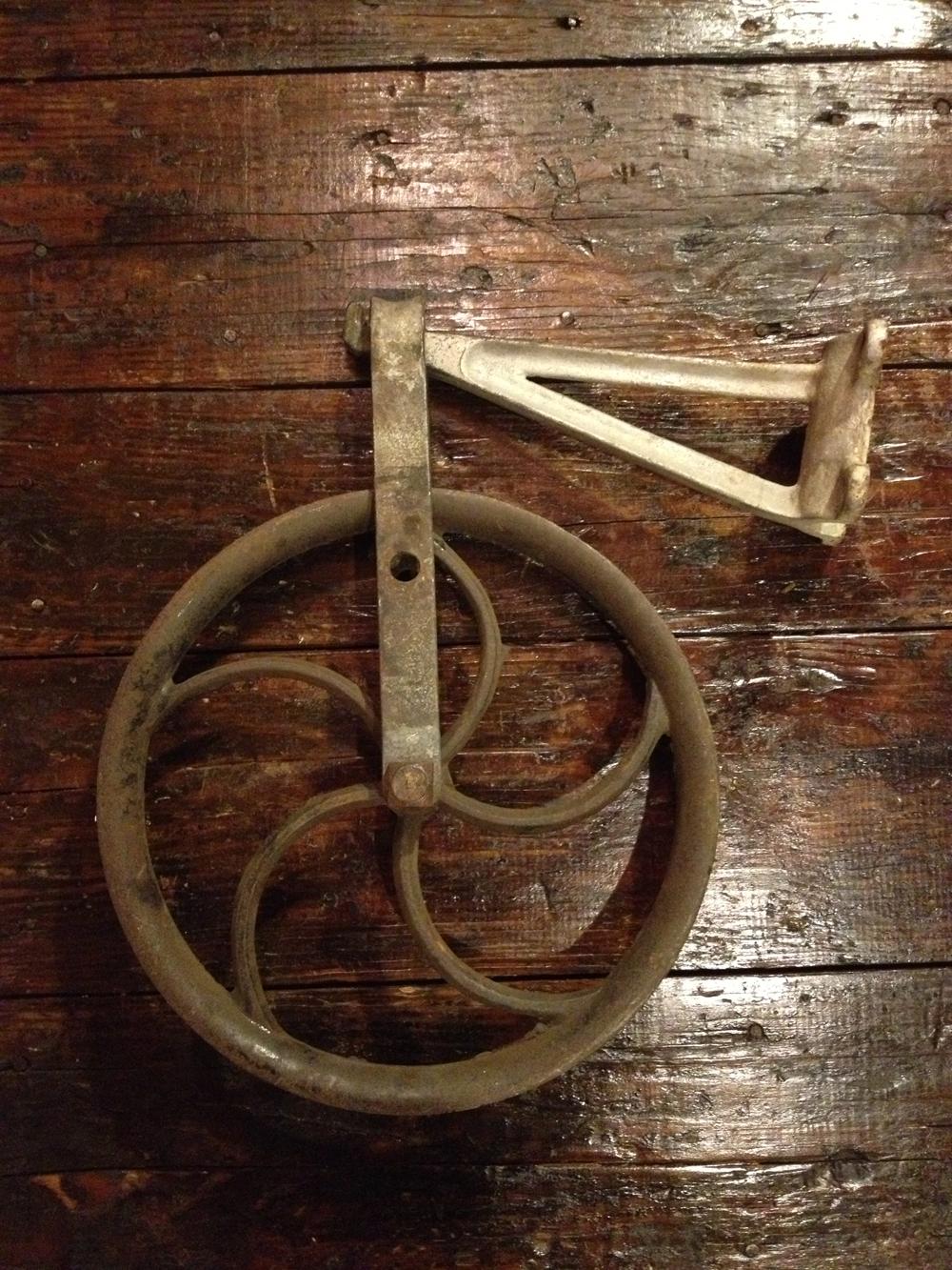 Antique Pulley Wheel Architectural & Garden