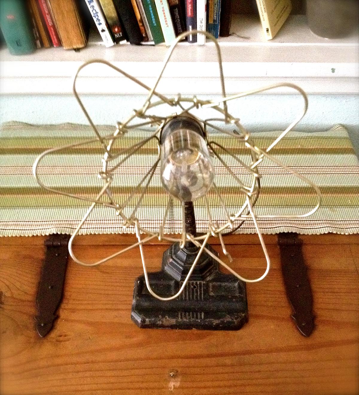 Vintage 40s cast iron metal deco industrial gooseneck desk lamp light - Image Image Image Vintage Gooseneck Desk Lamp With A Cast Iron